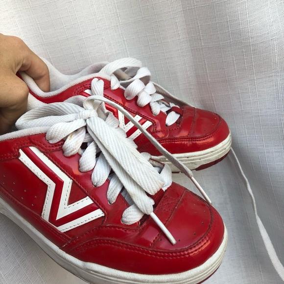 Vans Shoes | Vintage Red Vans | Poshmark
